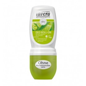 LAVERA - Deodorant roll-on cu lamaie si verbina, 50 ml