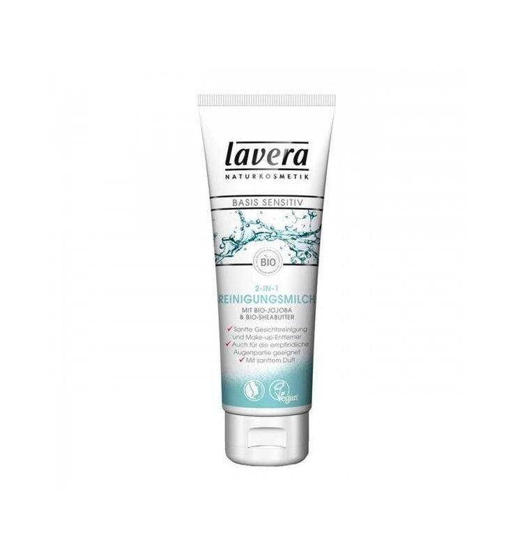 LAVERA - Lapte demachiant, 125ml