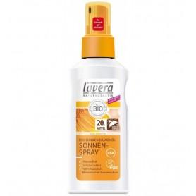 LAVERA - Crema - Spray de protectie solara cu ulei bio de floarea soarelui, 125ml