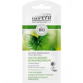 Lavera - Masca bio purificatoare pentru piele, 10ml