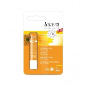 Balsam de buze cu protectie solara SPF10, 4,5 g Lavera
