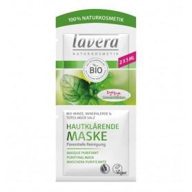 Masca Bio purificatoare pentru piele, 2x5ml Lavera
