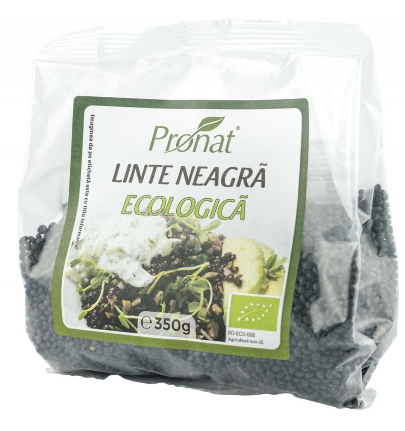 linte neagra bio (beluga), 350 g