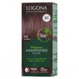 LOGONA – Vopsea de par 100 % naturala, 100g MARO ROSCAT, - Nuanta 092