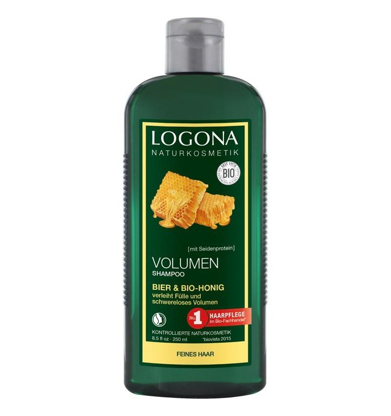 Sampon Bio pentru Volum cu Bere si Miere, 250 ml, Logona