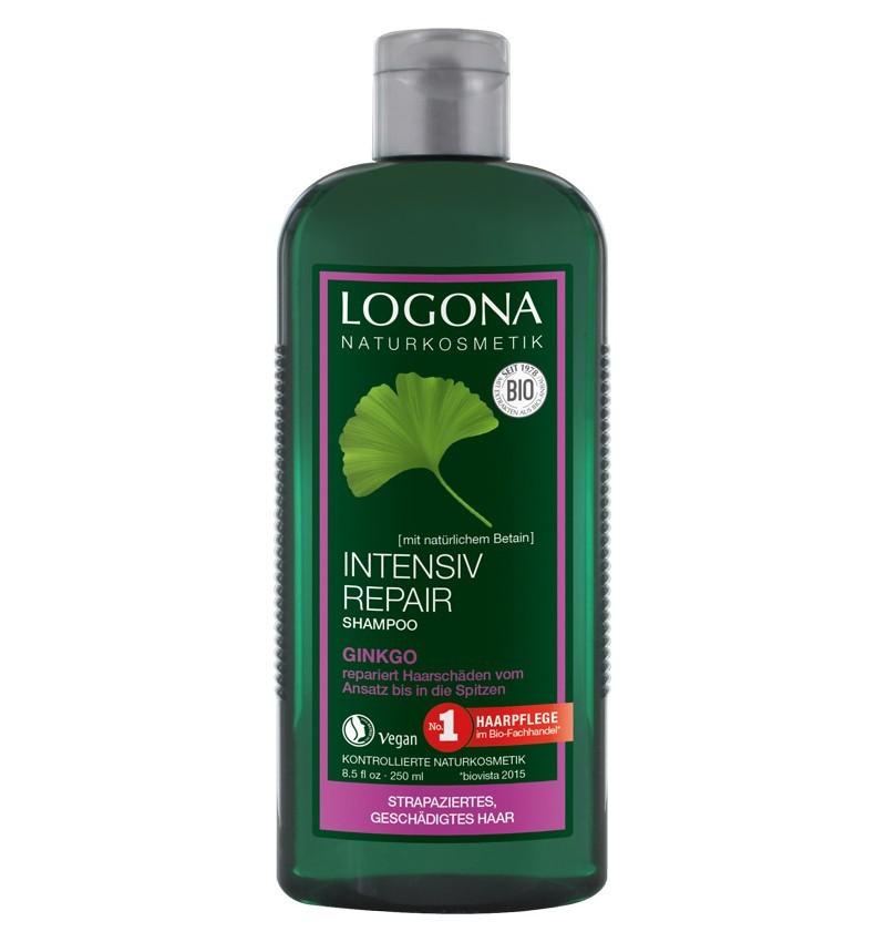 LOGONA - Sampon bio reparator cu ginkgo biloba, 250 ml