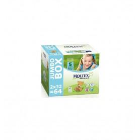 Scutece ECO pentru copii (11-25kg), nr. 5, Jumbo Box- 64 buc