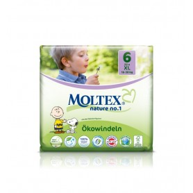 Scutece ECO XL pentru copii (16-30kg), nr. 6, pachet 22 buc