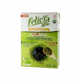Felicia Bio – Fusilli BIO din faina de fasole mung, 250gr