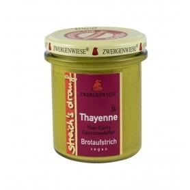 Crema tartinabila bio vegetala cu piper Cayenne - Thayenne, 160g