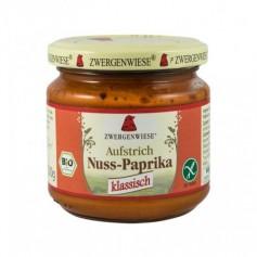 Crema tartinabila bio vegetala cu ardei si nuci caju, 200g