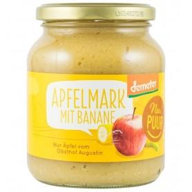 Nur Puur - Piure ecologic de mere cu banane, 360 g