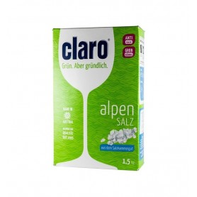 CLARO - Sare dedurizanta alpina, 1,5 Kg