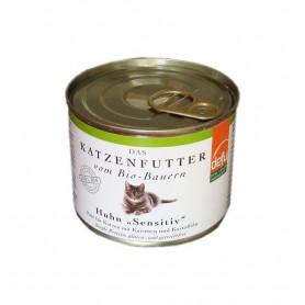 Defu BIO Hrana pentru pisici - Pate cu Pui - 200 g