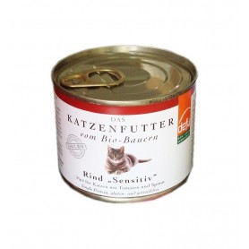 Defu BIO Hrana pentru pisici - Pate cu Vita - 200 g