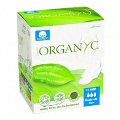 Absorbante intime Organyc din bumbac organic pentru zi - 10 buc.