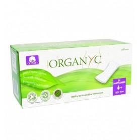 Absorbante zilnice Organyc din bumbac organic-24 buc.