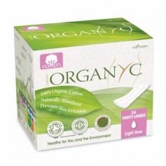 Absorbante zilnice subtiri Organyc din bumbac organic ambalate individual-24 buc.