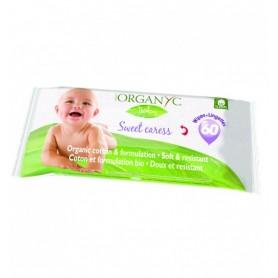 Servetele umede Organyc Baby - 60 buc.