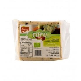 Tofu BIO cu verdeţuri Soyavit, 200 g