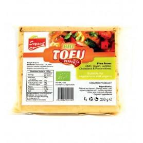 Tofu Bio cu Ardei, 200 g, Soyavit