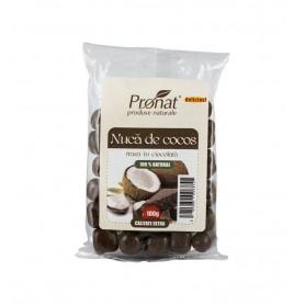 Nuca de cocos trasa in ciocolata, 100g
