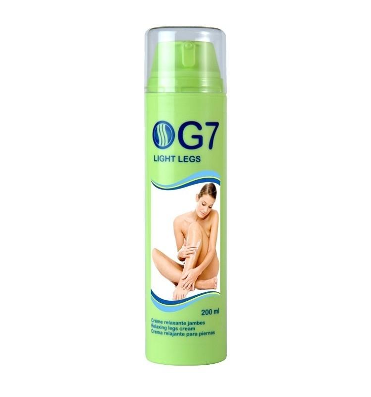 G7 PICIOARE USOARE - Pentru picioare obosite sau varice, 200 ml