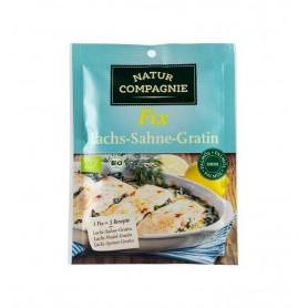 Natur Compagnie – Sos bio pentru somon gratinat cu smantana dulce, 40g