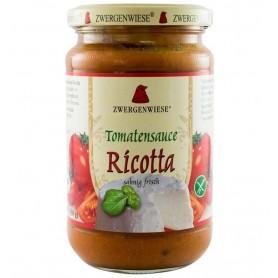 Sos Bio de Rosii cu Ricotta, 340 g, Zwergenwiese