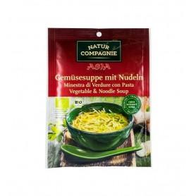 Natur Compagnie – Asia Style – Supa BIO de legume cu taitei, 40g