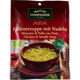 Natur Compagnie - Asia Style - Supa bio de pui cu taitei, 40g