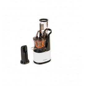 Storcator de fructe si legume cu melc Oursson JM6001/IV, 240 W, 60 RPM, presare la rece, 1 l, Alb