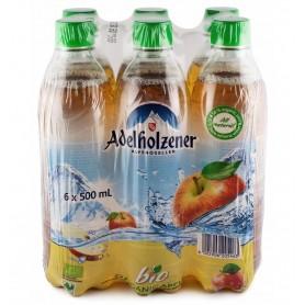 Adelholzener - Bautura BIO carbogazoasa cu mere, 500 ml - (1 bax) - 6 bucati la pret de 4