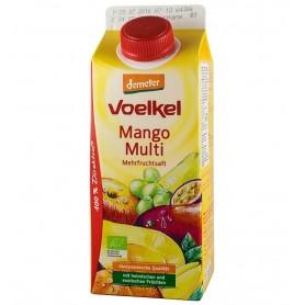 Voelkel - Suc BIO de mango si multi fruct, 0,75l