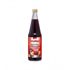 Voelkel - Punch BIO din suc de soc indulcit cu miere, 700ml