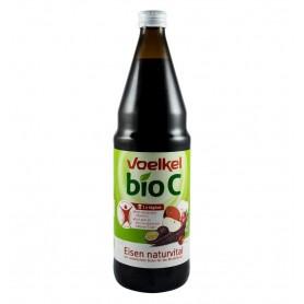 Vitamina C, Suc Bio de Fructe cu Fier si Vitamina C, 0.75l, Voelkel