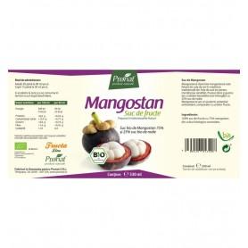 Suc de mangostan 100%, bio, 330 ml