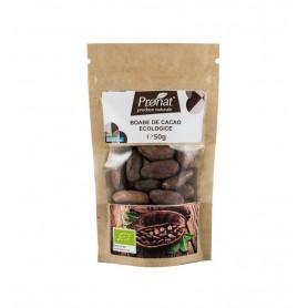 Boabe de cacao raw, bio, 50g