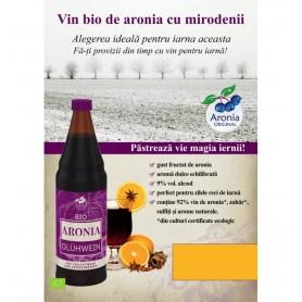 Aronia Original - Vin Bio de Aronia cu Mirodenii pentru iarna, 0,75L