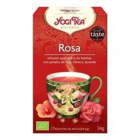 Ceai Bio de TRANDAFIRI Yogi Tea 34 g
