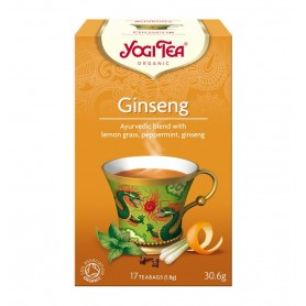 Ceai Bio GINSENG Yogi Tea, 30.6g