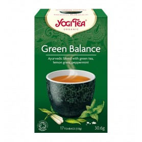 Ceai Bio ECHILIBRU VERDE Yogi Tea, 30.6g