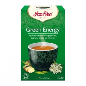 Ceai Bio ENERGIE VERDE Yogi Tea, 30.6g