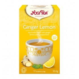 Ceai Bio de Ghimbir si Lamaie, Yogi Tea, 30.6gr
