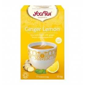 Ceai Bio GHIMBIR si lamaie Yogi Tea, 30.6gr