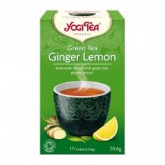 Ceai Verde Bio cu Ghimbir si Lamaie, Yogi Tea, 30.6 g