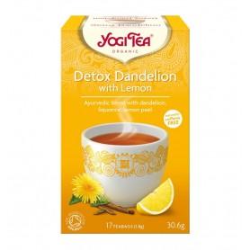 Ceai Bio Detox cu Lamaie Yogi Tea, 30.6 g