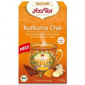 Ceai Bio cu TURMERIC (Curcuma) Yogi Tea, 34 g