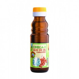 Ulei de In Omega 3 -100 ML Quantum Pharm