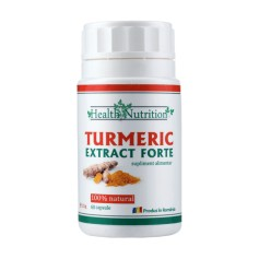Turmeric Extract Forte 100% natural, 60 capsule Health Nutrition